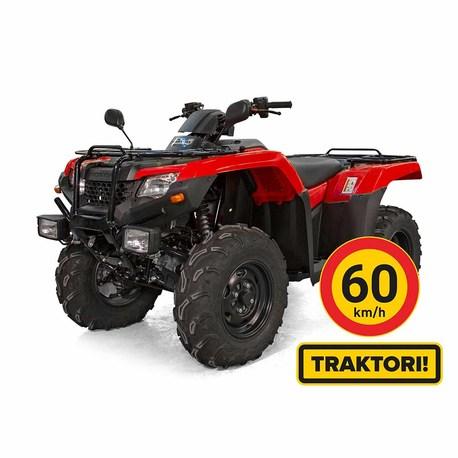 Red Machine TRX420FE TRAKTORIMÖNKIJÄ 60KM/H
