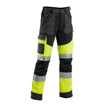 Dimex Turva superstretch-housut, hv-keltainen